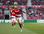 Adam Clayton of Middlesbrough during the Premier League match at the Riverside Stadium, Middlesbrough. Picture date: April 8th, 2017. Pic credit should read: Jamie Tyerman/Sportimage
