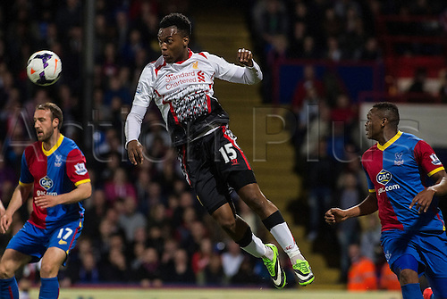 05.05.2014  London, England. Liverpool forward Daniel Sturridge (15) during the Barclays Premier League match between Crystal Palace and Liverpool from Selhurst Park