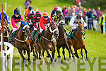 The John Patrick O'Sullivan Memorial Race pictured at Dingle races on Friday.
