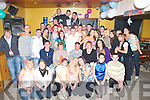 PARTY: J.J. O'Mahony, Ardfert (seated centre) having a ball with friends and family at his 18th birthday party held in McElligott's Bar, Ardfert on Friday night.   Copyright Kerry's Eye 2008