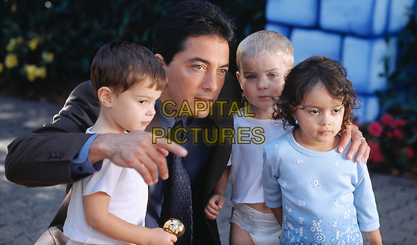 MAX & MICHAEL ILES, SCOTT BAIO & JARED & JORDAN SCHEIDEMAN &MAIA & KEANA BASTIDAS .in Superbabies: Baby Geniuses 2.*Editorial Use Only*.www.capitalpictures.com.sales@capitalpictures.com.Supplied by Capital Pictures.