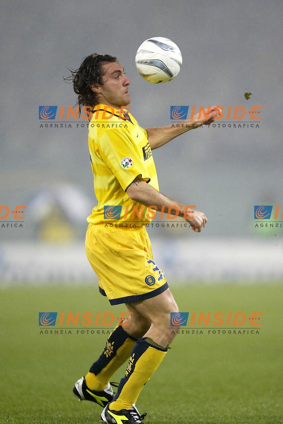Roma 21/12/2003 Campionato italiano Serie A<br /> Lazio Inter 2-1 <br /> Christian Vieri  (Inter)<br /> Photo Andrea Staccioli Insidefoto