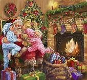 Marcello, CHRISTMAS SANTA, SNOWMAN, WEIHNACHTSMÄNNER, SCHNEEMÄNNER, PAPÁ NOEL, MUÑECOS DE NIEVE, paintings+++++,ITMCXM1514,#X#
