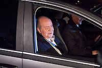 Don Juan Carlos admitted at the clinic San Jose for a hipe surgery during 9 days - Madrid