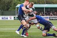Mark Bright of Ealing Trailfinders during the British & Irish Cup Final match between Ealing Trailfinders and Leinster Rugby at Castle Bar, West Ealing, England  on 12 May 2018. Photo by David Horn / PRiME Media Images.