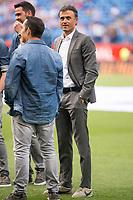 FC Barcelona's coach Luis Enrique Martinez before Copa del Rey (King's Cup) Final between Deportivo Alaves and FC Barcelona at Vicente Calderon Stadium in Madrid, May 27, 2017. Spain.<br /> (ALTERPHOTOS/BorjaB.Hojas) /NortePhoto.com