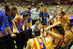 Catalunya vs Montenegro: 83-57.<br /> Fabian Tellez.