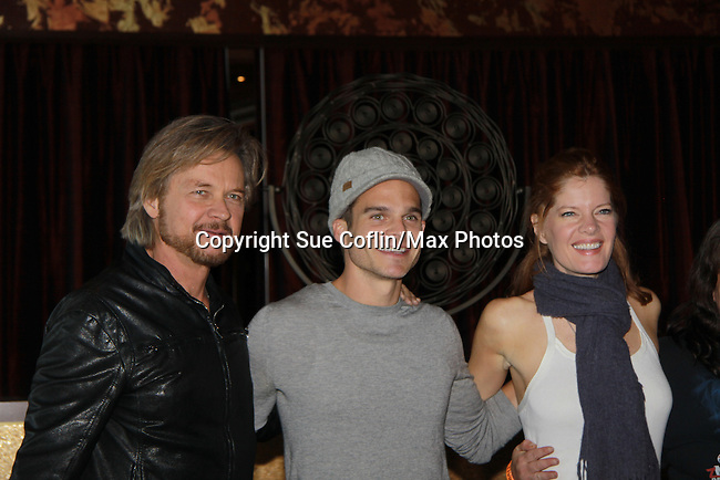 """Drama Brunch - The Young & The Restless stars Stephen Nichols & Greg Rikaart & Michelle Stafford came for the fans with a brunch and photos during the Soap Opera Festivals Weekend - """"All About The Drama"""" on March 25, 2012 at Bally's Atlantic City, Atlantic City, New Jersey.  (Photo by Sue Coflin/Max Photos)"""