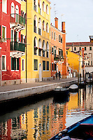 The Cannaregio district of Venice, Italy