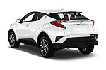 Car pictures of rear three quarter view of 2019 Toyota C-HR Limited Door SUV Angular Rear
