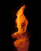 M00358M.tiff   Sandstone slot canyon. Antelope Canyon, Arizona