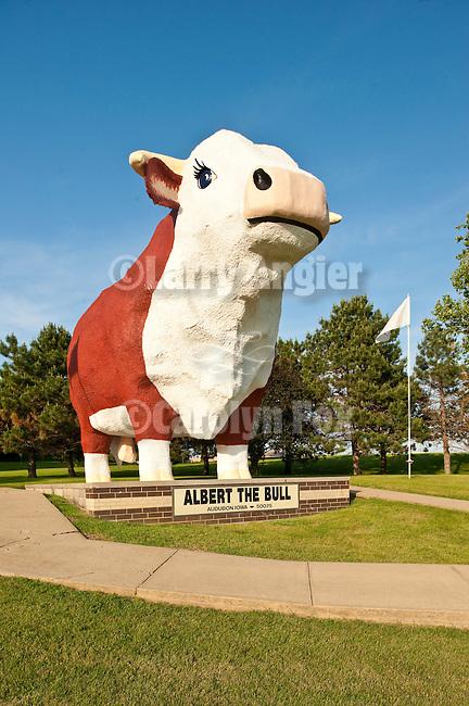 Albert the Bull at the city park