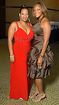 Ericka Martin and Alexis Moore at the Houston Area's Urban League Equal Opportunity Day Gala at the Hilton Americas Houston Saturday night June 20, 2009.(Dave Rossman/For the Chronicle)