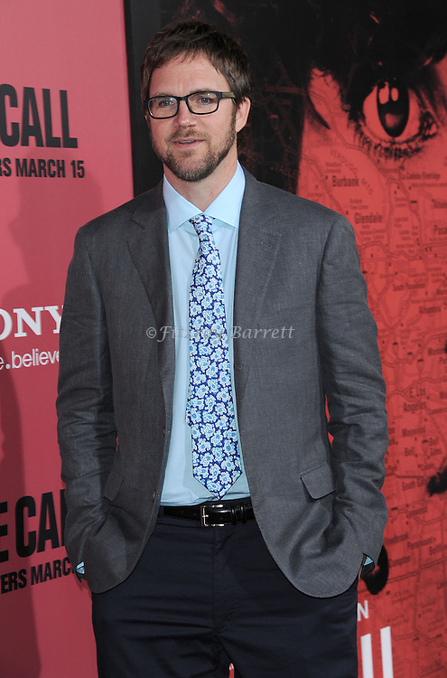 "Brad Anderson at the premiere for ""The Call"" held at Archlight  Theater in Los Angeles, CA. March 5, 2013."