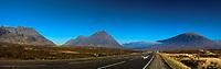 Creise, Buachaille Etive Mor and Beinn a Chrulaiste, Glencoe, Highland