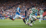 James Tavernier flying down the wing to torment Celtic yet again
