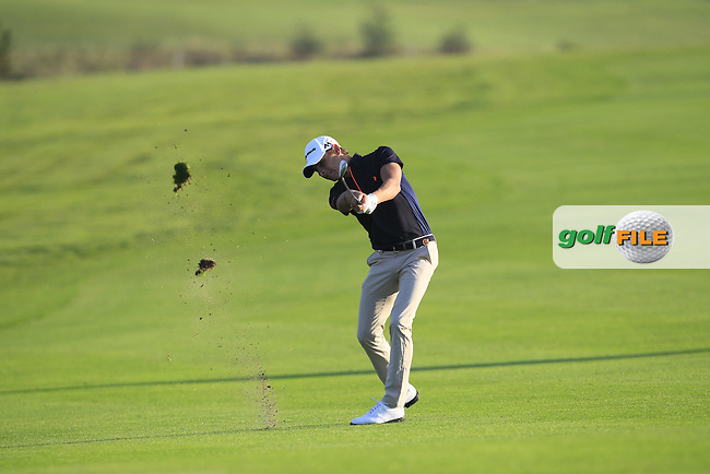 Joakim Lagergren (SWE) on the 11th fairway during Round 1 of the Made in Denmark 2016 at the Himmerland Golf Resort, Farso, Denmark on Thursday 25th August 2016.<br /> Picture:  Thos Caffrey / www.golffile.ie<br /> <br /> All photos usage must carry mandatory copyright credit   (&copy; Golffile   Thos Caffrey)