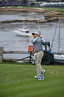 Kevin Kisner (USA) watches his tee shot on 7 during round 2 of the 2019 US Open, Pebble Beach Golf Links, Monterrey, California, USA. 6/14/2019.<br /> Picture: Golffile | Ken Murray<br /> <br /> All photo usage must carry mandatory copyright credit (© Golffile | Ken Murray)