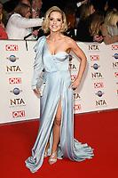 Stephanie Wareing<br /> arriving for the National TV Awards 2020 at the O2 Arena, London.<br /> <br /> ©Ash Knotek  D3550 28/01/2020