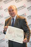 Festival Du cinema de Valenciennes - 19032014 - France - Pierre Dulaine et son prix