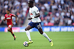 Moussa Sissoko of Tottenham Hotspur during the premier league match at the Wembley Stadium, London. Picture date 16th September 2017. Picture credit should read: Robin Parker/Sportimage