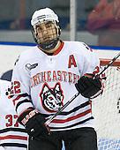 Greg Costa (NU - 22) - The Northeastern University Huskies defeated the Boston College Eagles 3-2 on Friday, February 19, 2010, at Matthews Arena in Boston, Massachusetts.