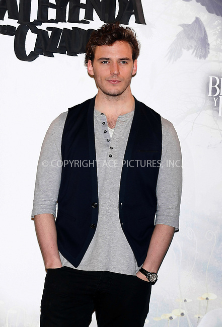 WWW.ACEPIXS.COM . . . . .  ..... . . . . US SALES ONLY . . . . .....May 17 2012, Madrid....Sam Claflin at a photocall for 'Snow White and the Huntsman' on May 17 2012 in Madrid....Please byline: FAMOUS-ACE PICTURES... . . . .  ....Ace Pictures, Inc:  ..Tel: (212) 243-8787..e-mail: info@acepixs.com..web: http://www.acepixs.com