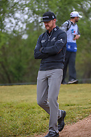 Jimmy Walker (USA) heads down 2 during Round 3 of the Valero Texas Open, AT&amp;T Oaks Course, TPC San Antonio, San Antonio, Texas, USA. 4/21/2018.<br /> Picture: Golffile   Ken Murray<br /> <br /> <br /> All photo usage must carry mandatory copyright credit (&copy; Golffile   Ken Murray)