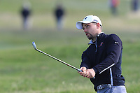 Keith Egan (Carton House) on the 18th fairway during Round 3 of The East of Ireland Amateur Open Championship in Co. Louth Golf Club, Baltray on Monday 3rd June 2019.<br /> <br /> Picture:  Thos Caffrey / www.golffile.ie<br /> <br /> All photos usage must carry mandatory copyright credit (© Golffile | Thos Caffrey)