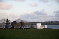 The miniature fort on the banks of the Shannon was originally designed as a bathing house