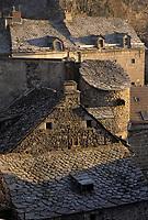 Europe/France/Auvergne/15/Cantal/Murat: Les toits du village
