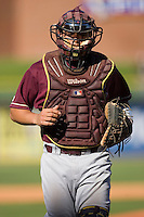Catcher Tony Sanchez #26 of the Boston College Eagles at Durham Bulls Athletic Park May 20, 2009 in Durham, North Carolina. (Photo by Brian Westerholt / Four Seam Images)