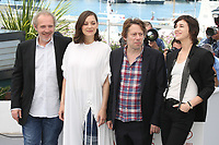 DIRECTOR ARNAUD DESPLECHIN, MARION COTILLARD, MATHIEU AMALRIC AND CHARLOTTE GAINSBOURG - PHOTOCALL OF THE FILM 'LES FANTOMES D'ISMAEL' AT THE 70TH FESTIVAL OF CANNES 2017