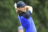 Tommy Fleetwood (ENG) tees off the 4th tee during Sunday's Final Round of the WGC Bridgestone Invitational 2017 held at Firestone Country Club, Akron, USA. 6th August 2017.<br /> Picture: Eoin Clarke | Golffile<br /> <br /> <br /> All photos usage must carry mandatory copyright credit (&copy; Golffile | Eoin Clarke)
