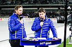 Stockholm 2015-03-14 Bandy SM-final herrar Sandvikens AIK - V&auml;ster&aring;s SK :  <br /> SVT:s programledare och bandyexpert expert Jonas Holgersson i TV-studion i Tele2 Arena under matchen mellan Sandvikens AIK och V&auml;ster&aring;s SK <br /> (Foto: Kenta J&ouml;nsson) Nyckelord:  SM SM-final final Bandyfinal Bandyfinalen herr herrar VSK V&auml;ster&aring;s SAIK Sandviken TV TV-k&auml;ndis K&auml;ndis