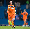 DUNDEE UTD'S GARRY KENNETH AT THE END OF THE GAME.