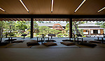Photo shows the stunning tea house inside the Matsue Historical Museum in Matsue City, Shimane Prefecture, Japan on 26 June 2011.  Photographer: Robert Gilhooly