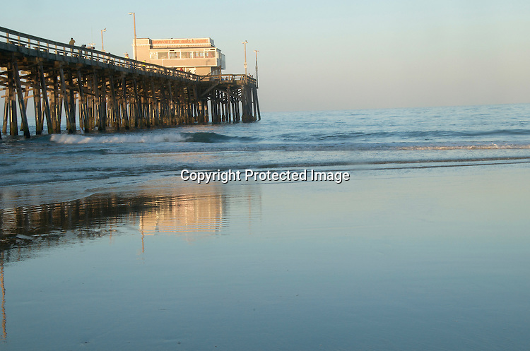 Stock Photo Newport Beach California