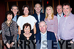 Seated, Joan&Michael Hennebery with, back L-R Maura&Aiden Hennebery, Suzanne Ui Loingsigh, Brian, Kieran&Elaine Hennebery with Niall Ó Loingsigh, celebrating Michaels 84th birthday last Saturday night in O'Donnell's, Tralee.