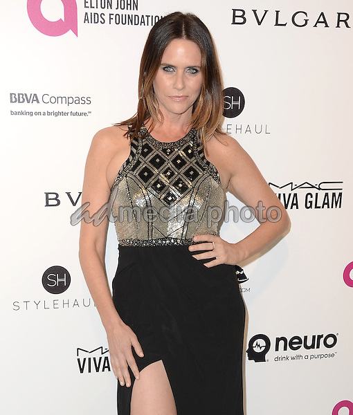 28 February 2016 - West Hollywood, California - Amy Landecker. 24th Annual Elton John Academy Awards Viewing Party sponsored by Bvlgari, MAC Cosmetics, Neuro Drinks and Diana Jenkins held at West Hollywood Park. Photo Credit: Birdie Thompson/AdMedia