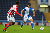 Blackburn Rovers' Jack Doyle goes past Stoke City U23s' Tre Pemberton <br /> <br /> Photographer Andrew Kearns/CameraSport<br /> <br /> The EFL Checkatrade Trophy - Blackburn Rovers v Stoke City U23s - Tuesday 29th August 2017 - Ewood Park - Blackburn<br />  <br /> World Copyright &copy; 2018 CameraSport. All rights reserved. 43 Linden Ave. Countesthorpe. Leicester. England. LE8 5PG - Tel: +44 (0) 116 277 4147 - admin@camerasport.com - www.camerasport.com