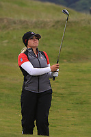 Brigitte Thibault (CAN) on the 1st during Round 2 of the Women's Amateur Championship at Royal County Down Golf Club in Newcastle Co. Down on Wednesday 12th June 2019.<br /> Picture:  Thos Caffrey / www.golffile.ie