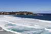 Waves at Bondi Beach in Sydney, Australia