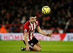 John Egan of Sheffield Utd during the Premier League match at Bramall Lane, Sheffield. Picture date: 10th January 2020. Picture credit should read: Simon Bellis/Sportimage