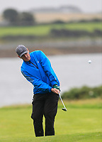 Eddie McCormack (Galway Bay) on the 17th fairway during the Connacht Semi-Final of the AIG Barton Shield at Galway Bay Golf Club, Galway, Co Galway. 11/08/2017<br /> Picture: Golffile | Thos Caffrey<br /> <br /> <br /> All photo usage must carry mandatory copyright credit     (&copy; Golffile | Thos Caffrey)