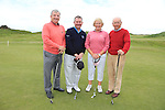 Kevin Lynch Adrian Williamson Catherine Headerington and Ben Baily<br /> at the East meath hospice golf classic in L&B golf club<br /> Picture:  Fran Caffrey / www.newsfile.ie
