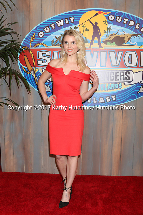 """LOS ANGELES - MAY 24:  Andrea Boehlke at the """"Survivor: Game Changers - Mamanuca Islands"""" Finale at the CBS Studio Center on May 24, 2017 in Studio City, CA"""