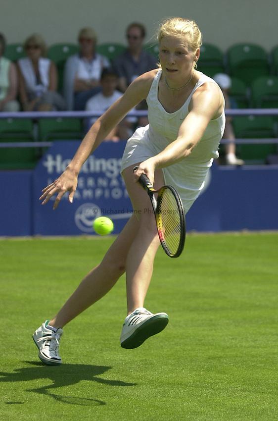 Photo: Richard Lane..Hastings Direct International Championship 2003..16/06/2003..Amanda Janes.