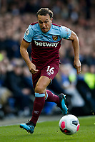 Mark Noble of West Ham United during the Premier League match between Everton and West Ham United at Goodison Park on October 19th 2019 in Liverpool, England. (Photo by Daniel Chesterton/phcimages.com)<br /> Foto PHC/Insidefoto <br /> ITALY ONLY