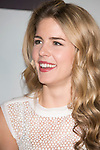 "The actress Emily Bett Rickards attends the fan event of the tv shows ARROW and THE 100, at the ""ATRESMEDIA CAFE""   in Madrid, Spain. Jun 9, 2014. (ALTERPHOTOS/Carlos Dafonte)"